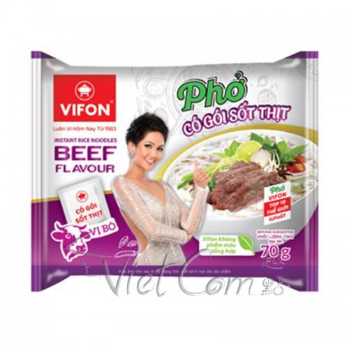 Vifon - Instant Rice Noodles Beef Flavour